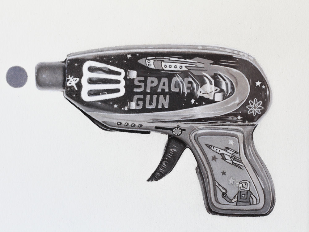 Atomic Space Gun #1 (Detail)