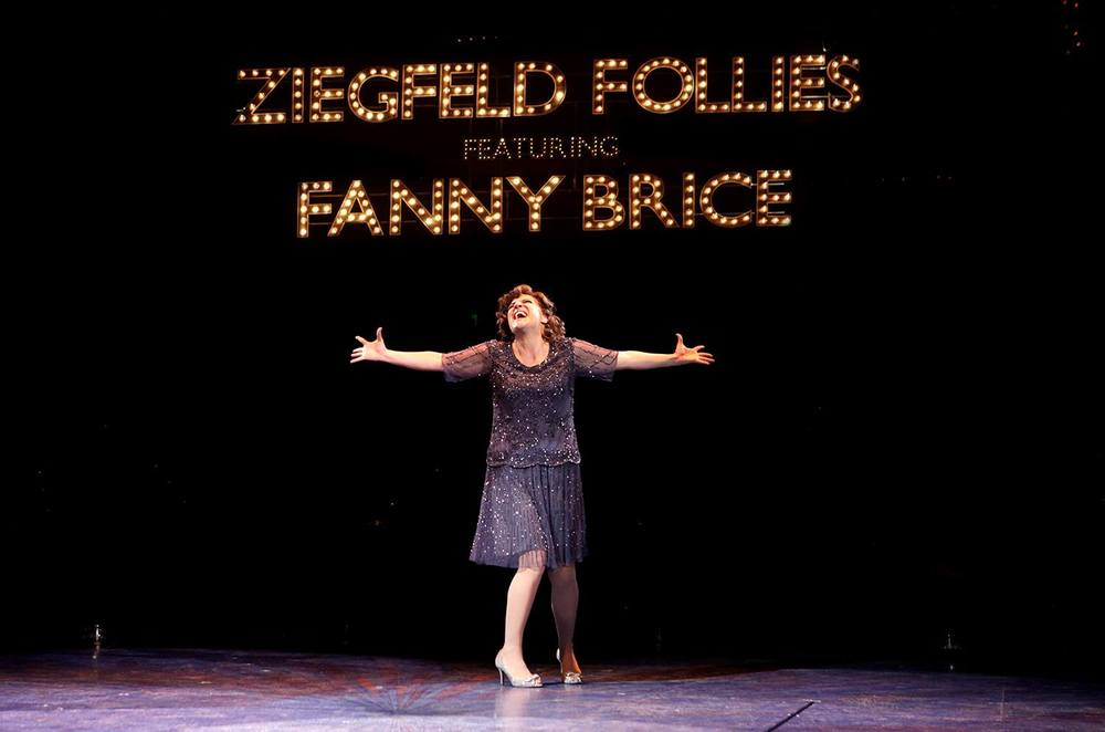 Funny Girl: James Brennan dir.                                   North Shore Music Theater, photo by Paul Lyden