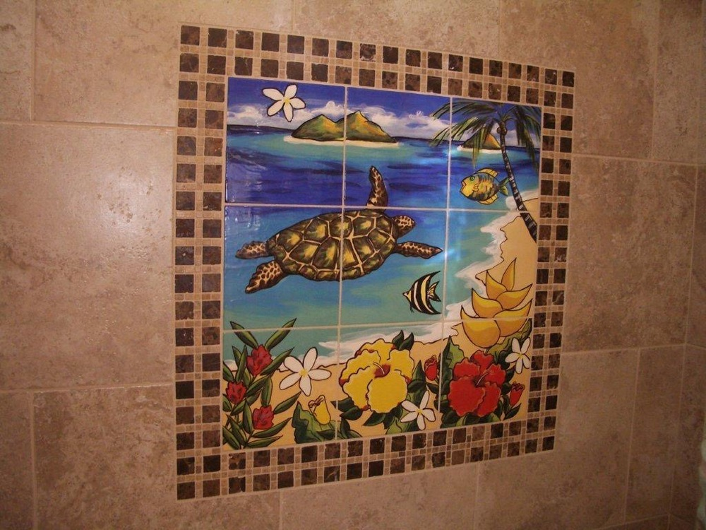 Turtle Mural Installed