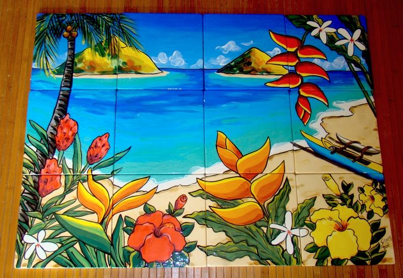 12 Piece Lanikai Mural