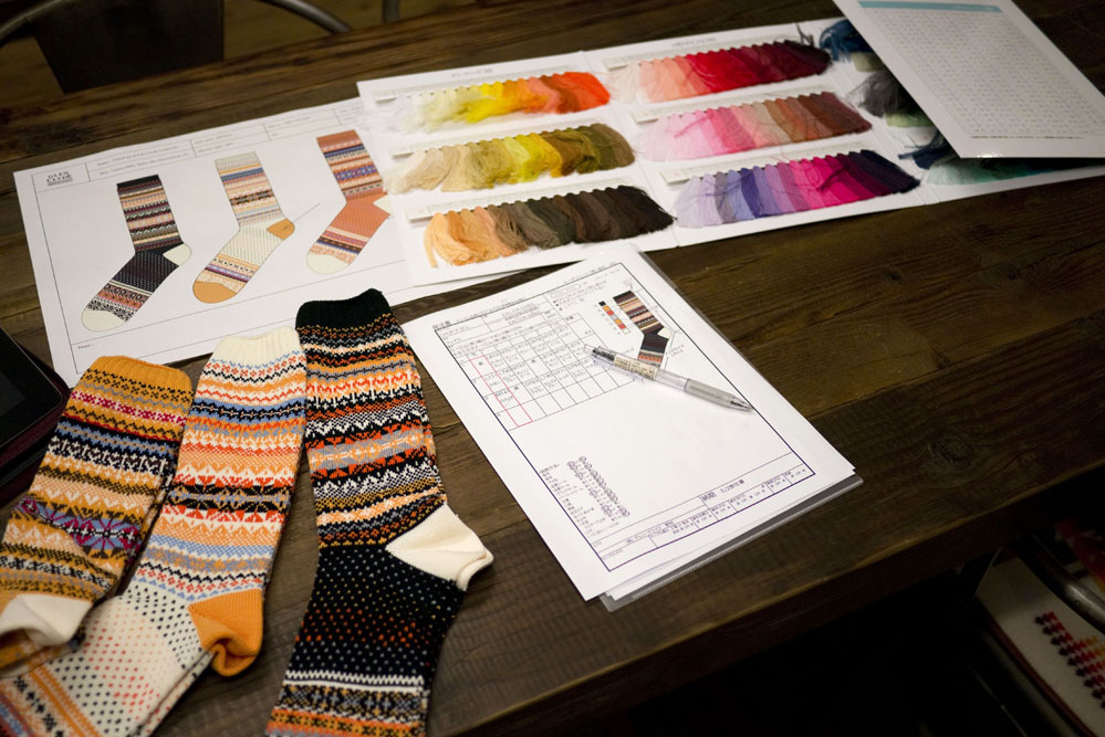 our signature colours, good comic timing and a cheap pen. - Chup For Sock Club London — Sock Club London
