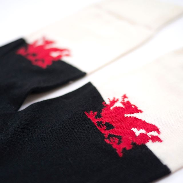 st david's day is on thursday.  order our wales away socks today or tomorrow and ( within the uk ) you should receive them in plenty of time for the big day.  #clwbhosanllundain #sockclublondon #enterthedragon #stdavidsday #sockgame #style #fashion #tenthruleofsockclub #wales #cymru #noapologiesnoregrets
