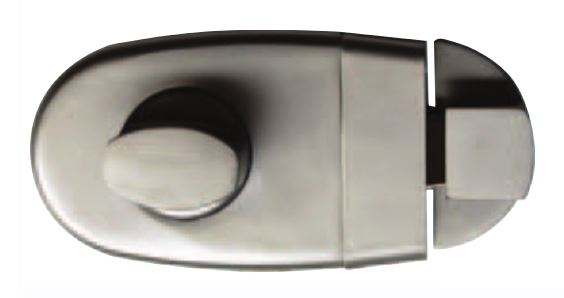 Superior Lock with Intergrated Bumper and Concealed Fix