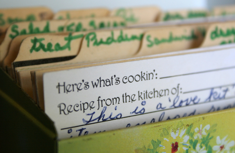 recipe box full size