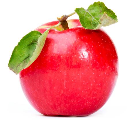 red apple full size