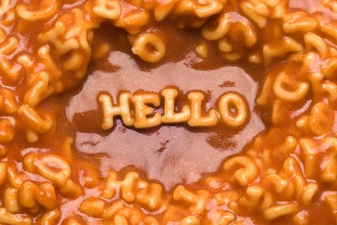 hello in alphabet soup