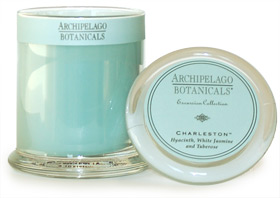 "For the person who ""has everything, "" a consumable gift like a scented candle can be the perfect choice. Our Archipelago candles are named after memorable destinations such as Charleston and Dubai. They are soy based, heavily scented and burn cleanly for 60 hours. We carry a large selection in many colors and scents, so choosing the right one should be a cinch."