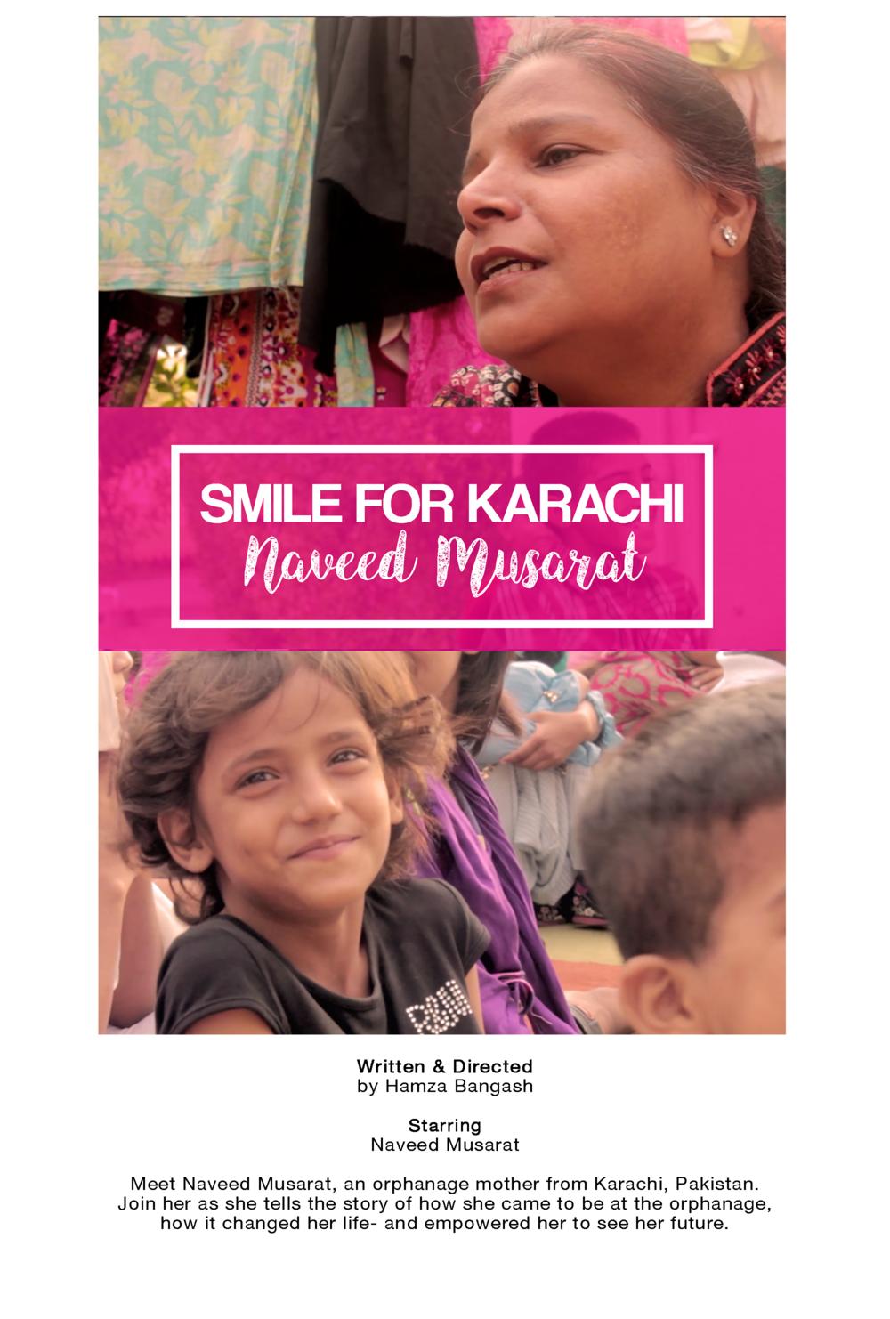 Smile for Karachi: Naveed Musarat