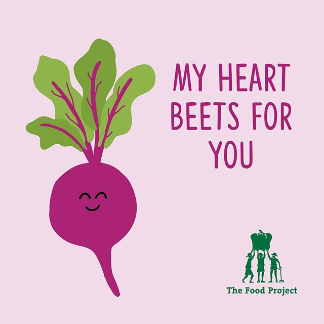 Valentine's Day is around the corner! Turnip your love with the gift of a CSA from The Food Project. You'll get 20 weeks of freshly harvested vegetables, give 120 teens an opportunity to learn about food and social justice, and grow a world where everyone has access to fresh, healthy food. This share is hard to beet! Buy yours today via link in bio.