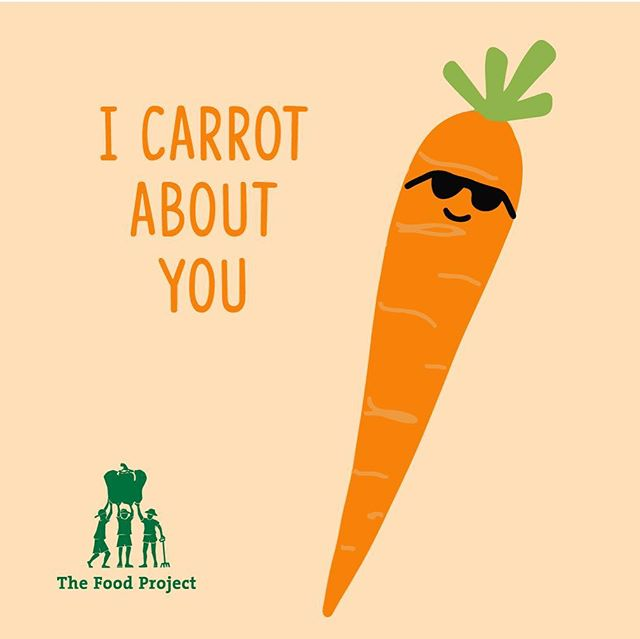 Stressed about finding the perfect Valentine's gift? Romaine calm. Show that special someone you carrot about them or give a special gift to yourself with a CSA from The Food Project. You'll get 20 weeks of freshly harvested produce, give 120 teens an opportunity to learn about food and social justice, and grow a world where everyone has access to fresh, healthy food. It's a gift that can't be beet! Sign up today via link in profile.