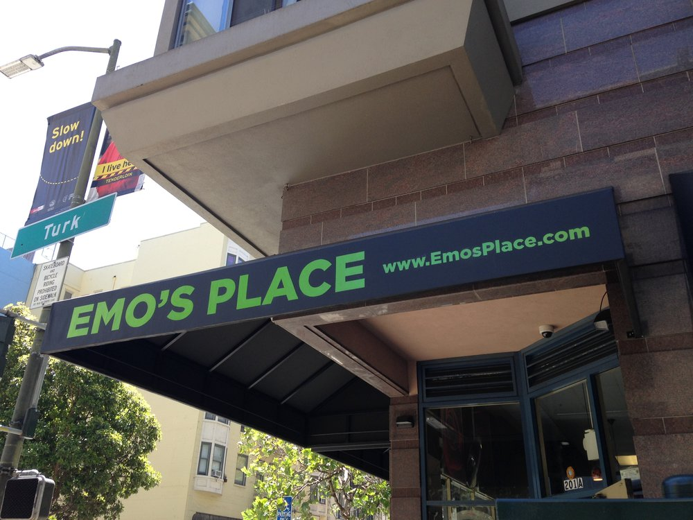 Emo's Place Awning