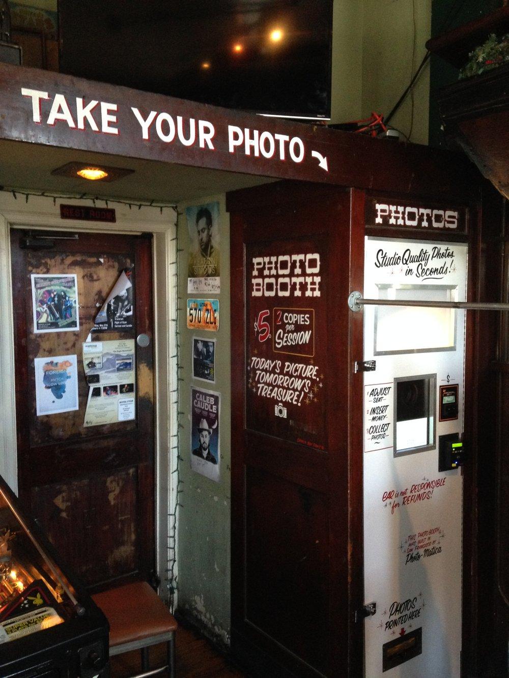 Hotel Utah Photo Booth