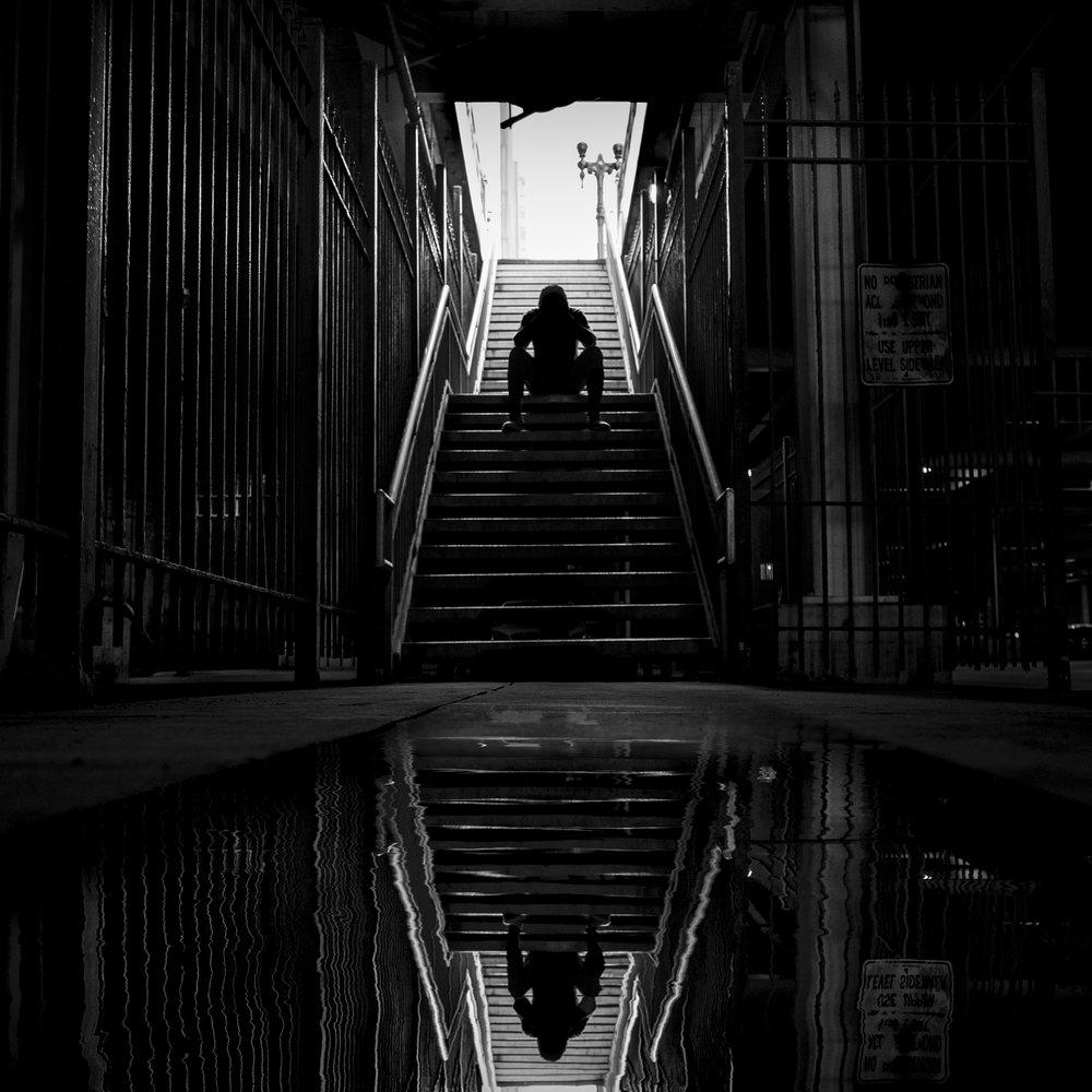 Puddles (ft. Saba) • Artwork by Jason Peterson
