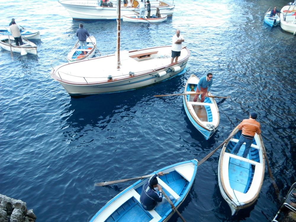 The Blue Grotto // Capri, Italy