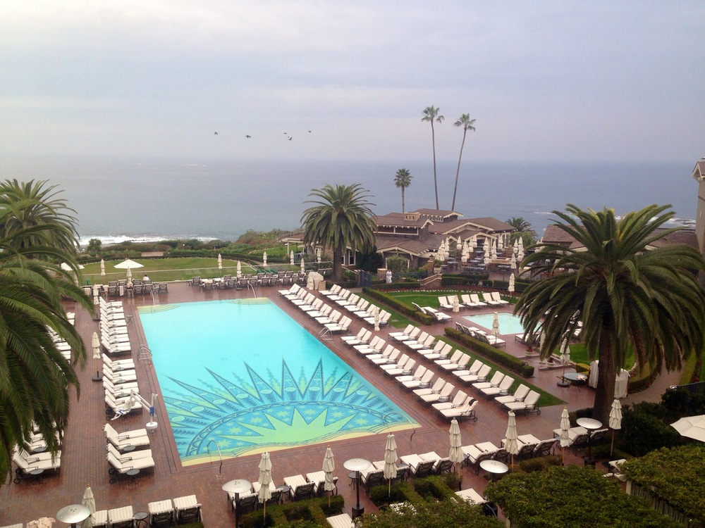 Afternoon tea at The Montage // Laguna Beach, California