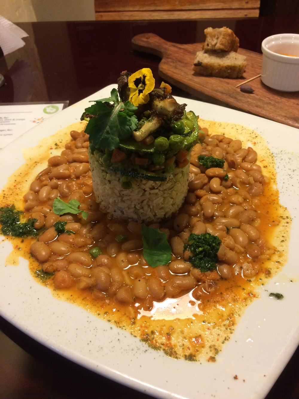 The most flavorful, spicy rice and bean dish from Green Point.