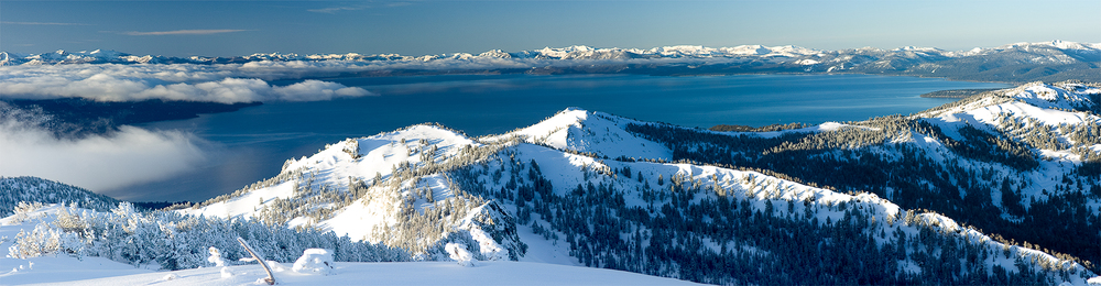 Lake Tahoe Winter Panaramic