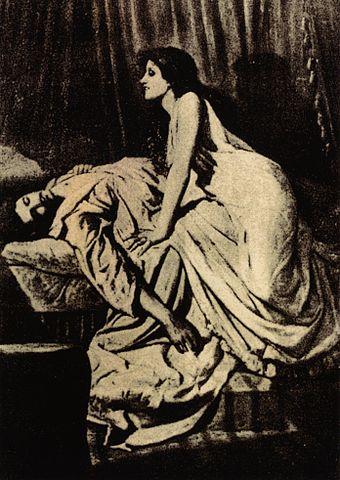 Philip Burne-Jones,The Vampire, 1897