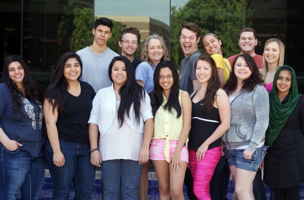 Spring 2014 Undergraduate Lab Team