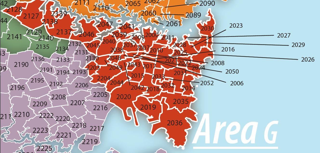 area g aa sydney australia