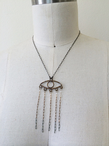 Holly Bobisuthi's Mystic Eye necklace (photo: Holly Bobisuthi)