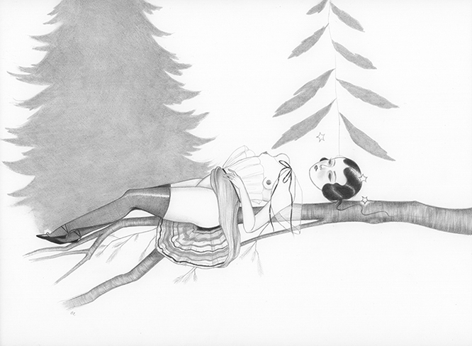 Memory of Fir by Amy Earles