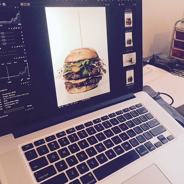 The Dinette's new Fall burger getting a photo shoot makeover for #torontolife best burger issue. #bestburger