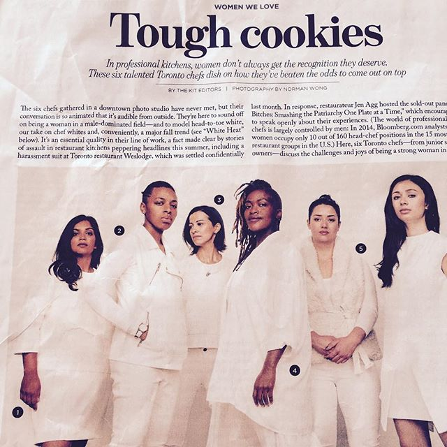 TheKit.ca featuring Suzanne and friends ... Tough Cookies in the kitchen !!! #thekitca #torontostar