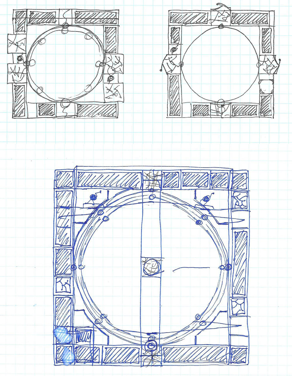 Early sketches - the design direction
