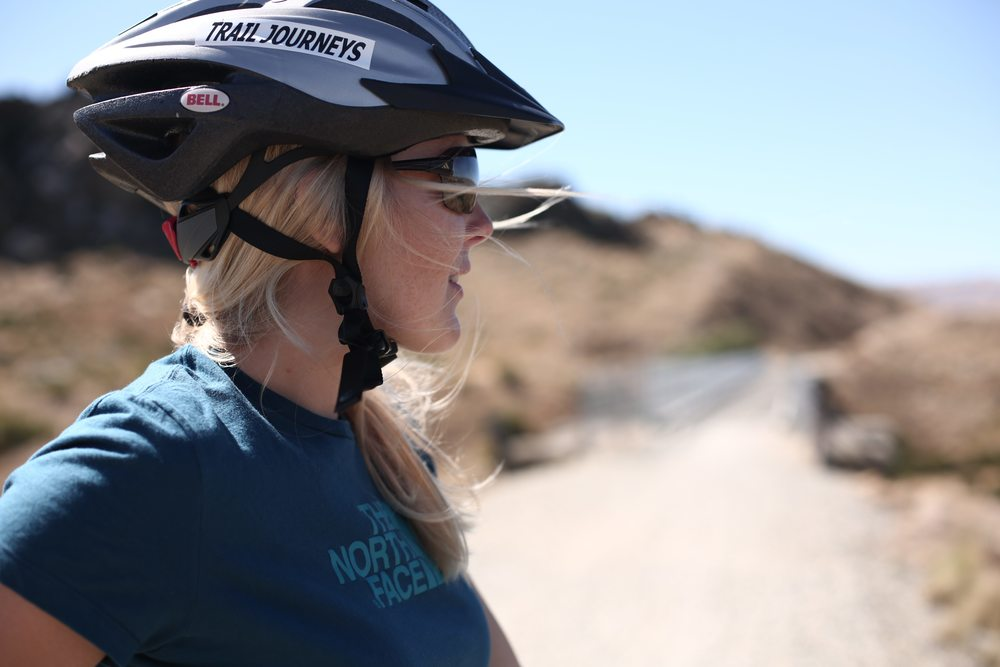 Caroline Pemberton - MTB in NZ