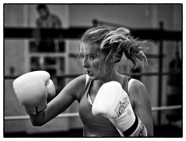 Caroline Pemberton - Boxing