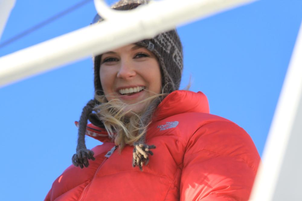Caroline Pemberton - Adventuring in Antarctica