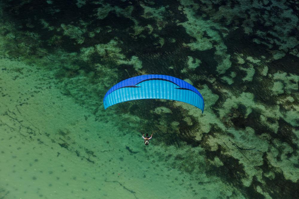 Caroline Pemberton - Paragliding Bali