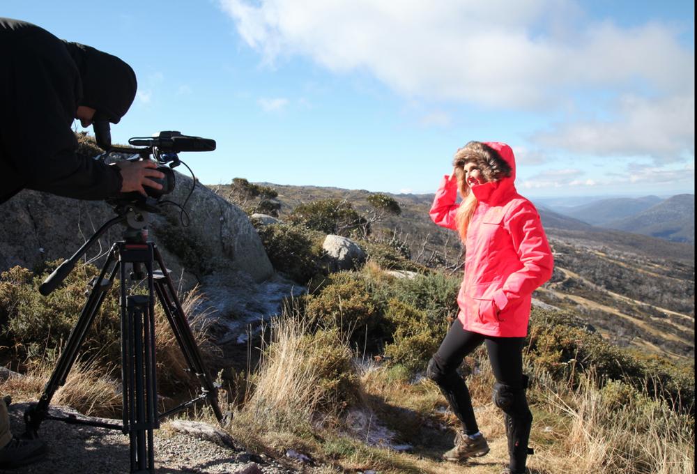 Caroline Pemberton - Filming Offroad Adventure Show