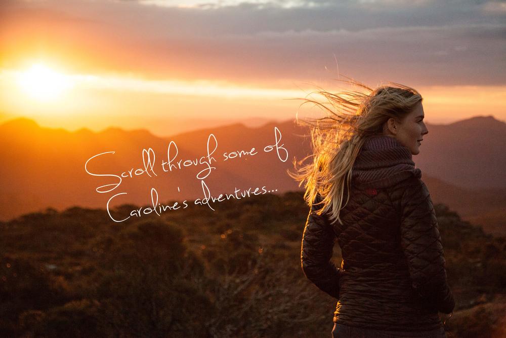 Caroline Pemberton - Hiking Grampians