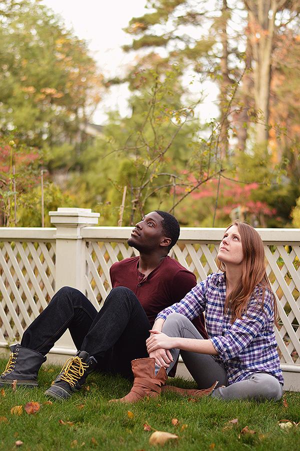 Sheldon Brown (Adams) & Louise Hamill (Talia).Photo by E. Milanovich Photography