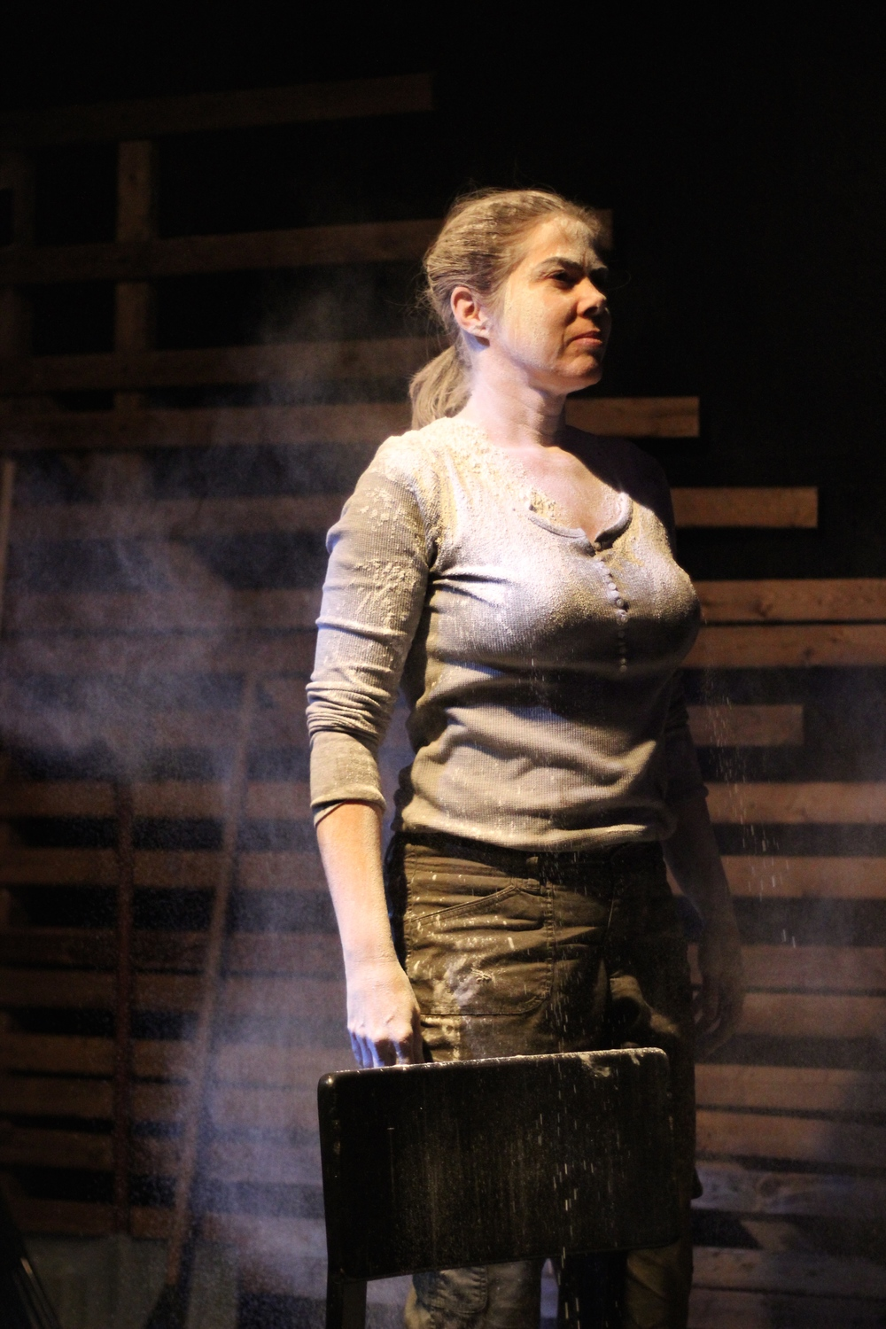 Christine Power as Maggie, Photo by Louise Hamill
