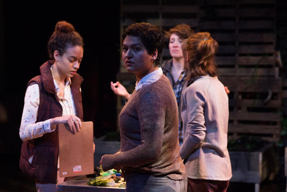Alex Casillas as Lucy, Aislinn Brophy as Rose, Emily Elmore as Sasha, Laura Baronet as Erica