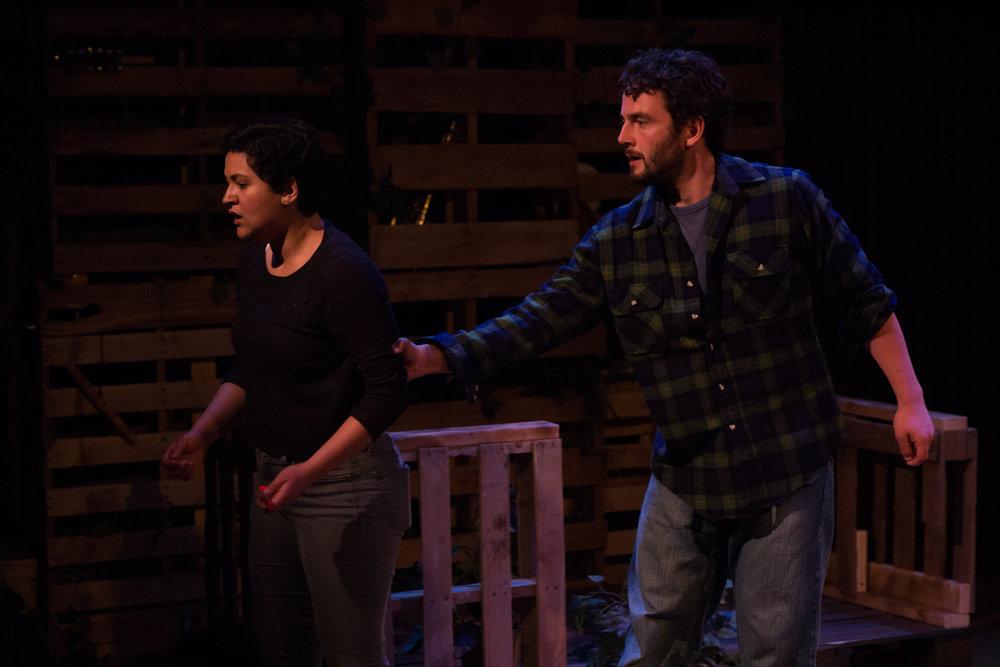 Alex Casillas as Lucy and Jon Vellante as Ethan