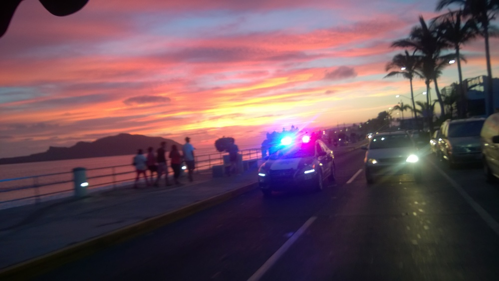 Sunset on the Boardwalk, Mazatlán