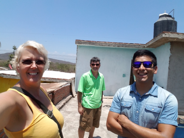 The rooftop location of the proposed Aguaponics System at Genero Estrada