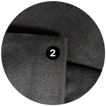 Fleece - The hidden middle layer is a water-resistant,heavyweight, insulating,Polartec® fleece.