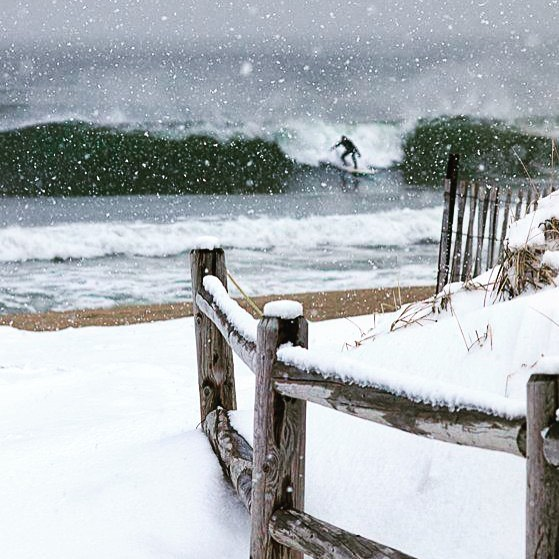 Winter Wonderland . . . #surfing #beachtowel #homebeachtent #happyholidays