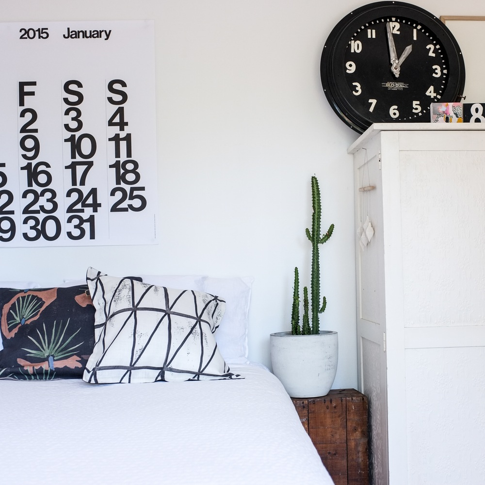 stendig calendar along with beautiful cushions by these.walls