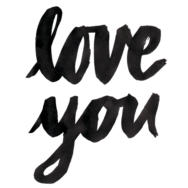 love you free printable