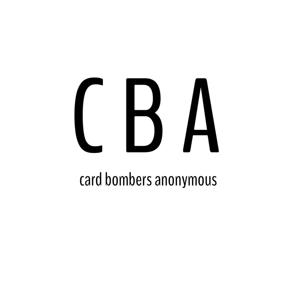 card bombers anonymous
