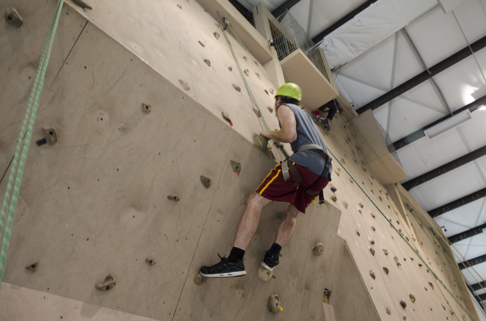 Climbing Wall & Outdoor Rock Climbing
