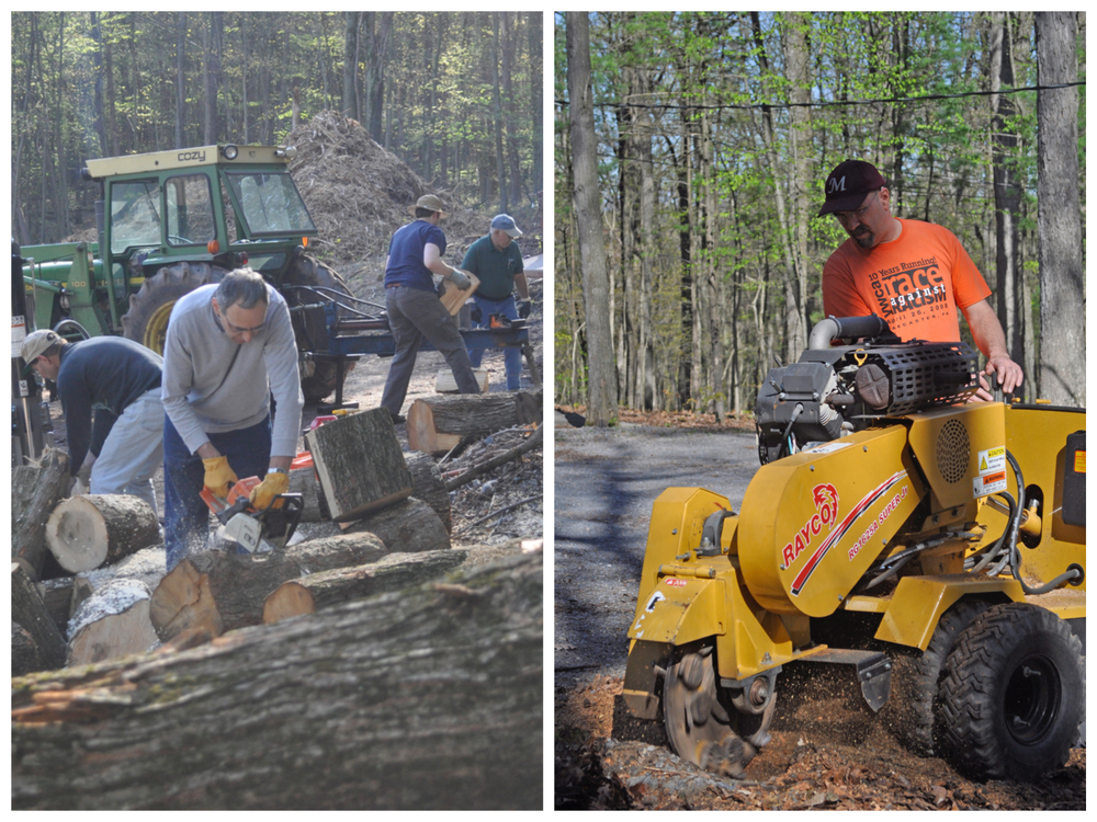 May 2015 - Stump Grindin' & Log Splittin'