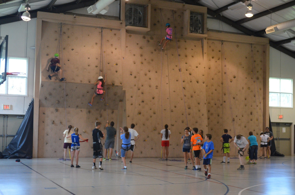 Indoor Rock Wall
