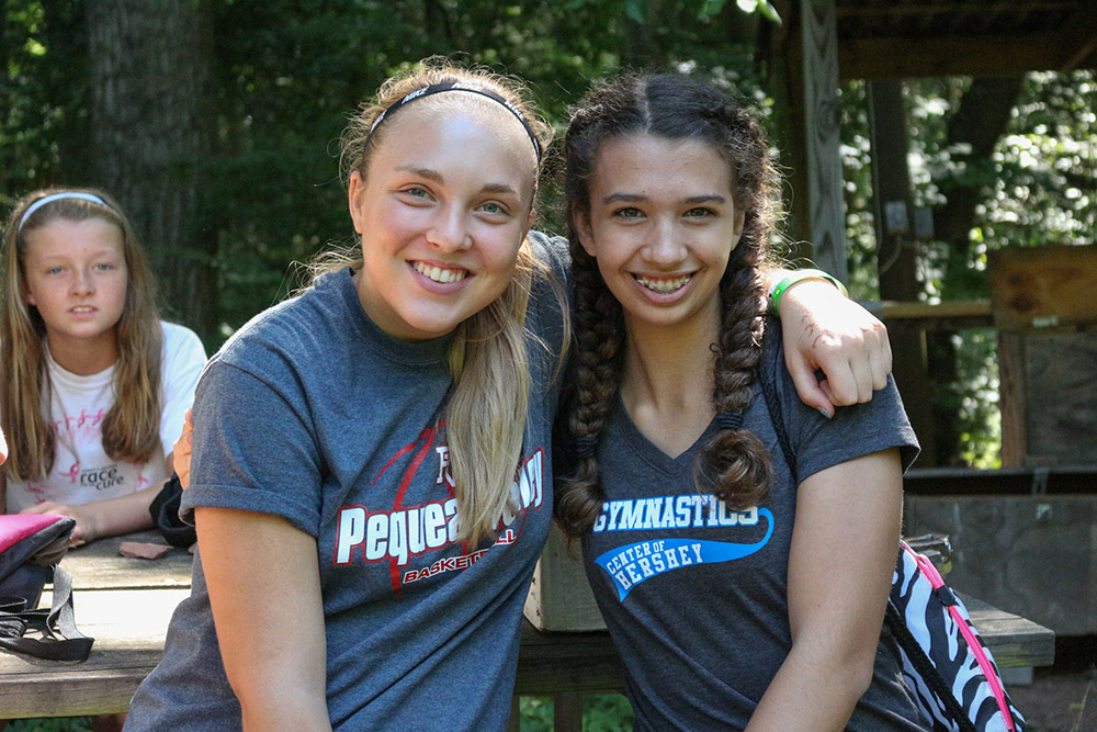 Campers gain independence through making new friends